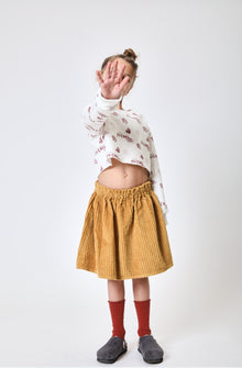 PETXINA OCHRE CROWN - SKIRT