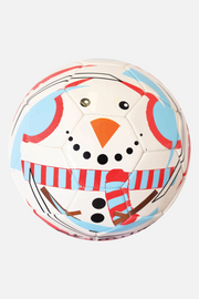 Optimum Christmas Snowman Football