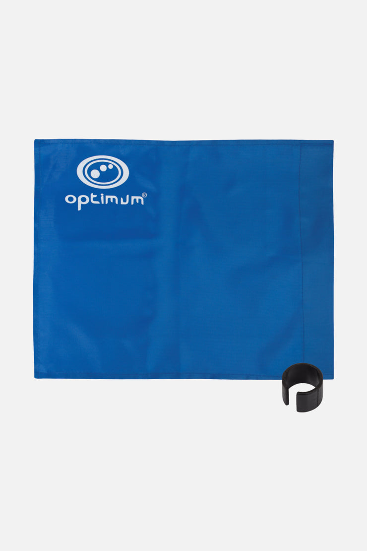 Optimum Blue Corner Flag