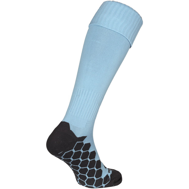 Optimum Light Blue Classico  Football Sock