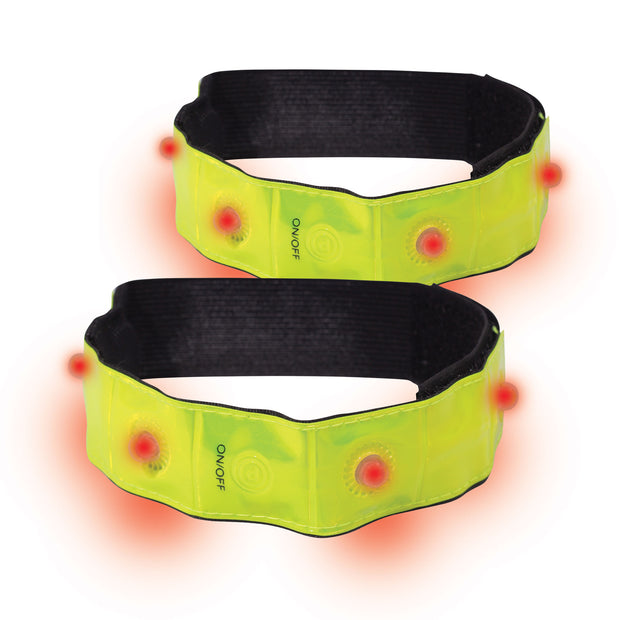 Optimum Flashing LED Armbands