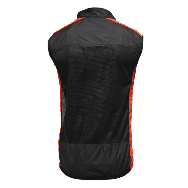 Optimum Hawkley Mens Stowaway Cycling  Gilet