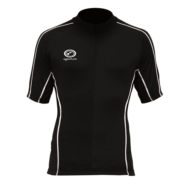 Optimum Hawkley Short Sleeve Cycling Jersey Black