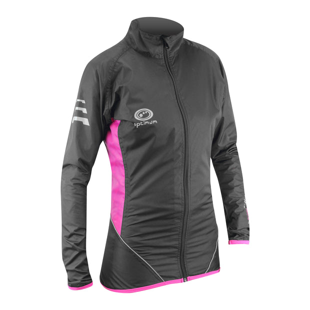 Optimum Nitebrite Ladies Cycling Rain Jacket