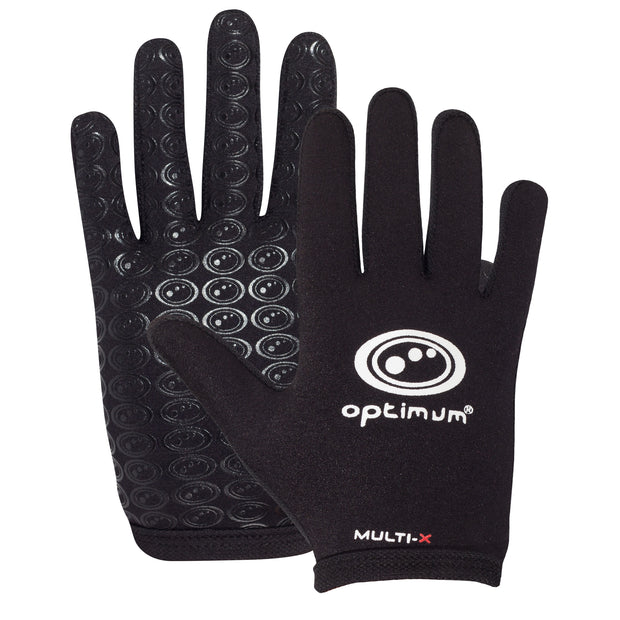 Optimum Multi-X Full Finger Glove Black