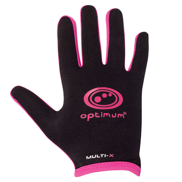 Optimum Multi-X Full Finger Glove Pink