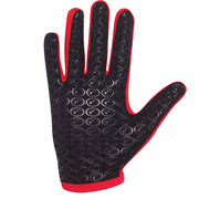 Optimum Multi-X Full Finger Gloves Red