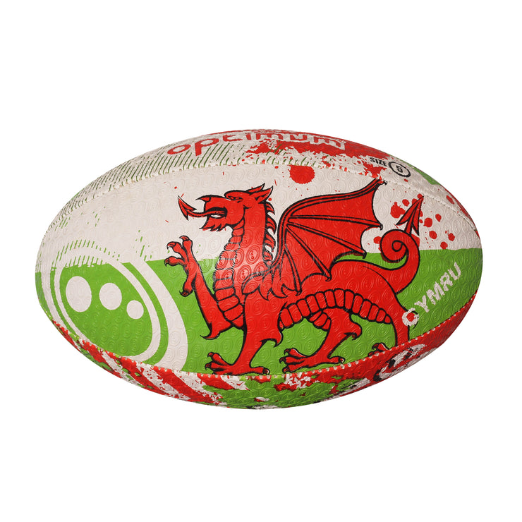 Optimum Wales Rugby Ball