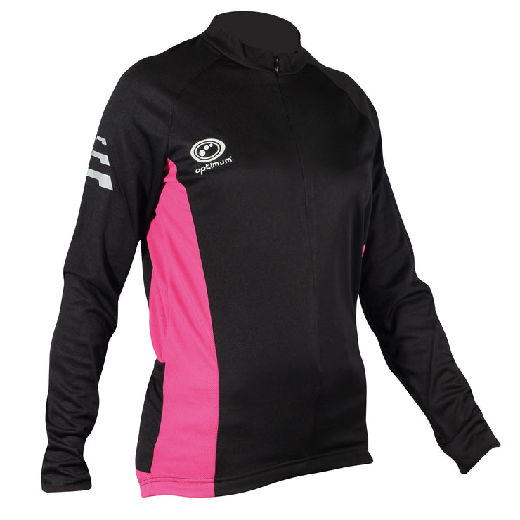 Optimum Nitebrite Ladies Long Sleeve Cycling Jersey