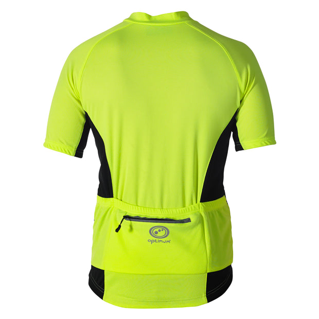 Optimum Nitebrite Short Sleeve Cycling Jersey