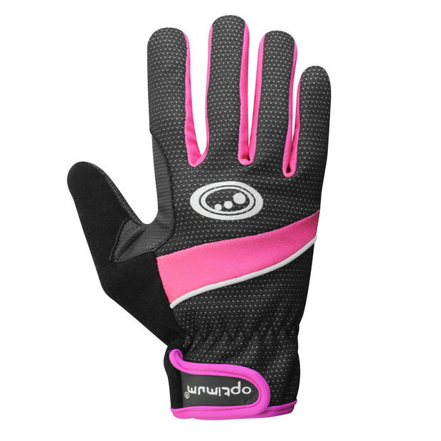 optimum Nitebrite Ladies Autumn Winter Cycling Gloves