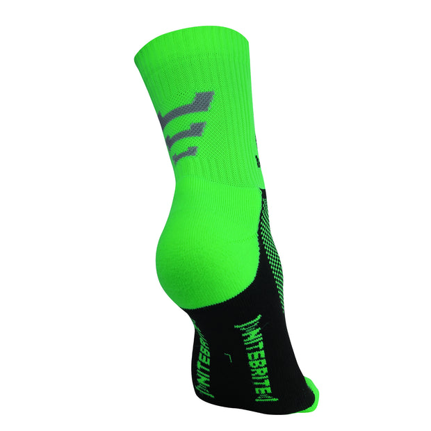 Optimum Nitebrite Cycling Socks Fluro Green