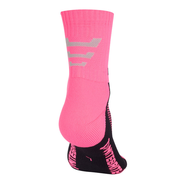 Optimum Nitebrite Cycling Socks Fluro Pink