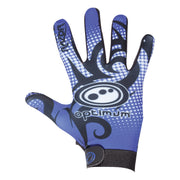 Optimum Razor Full Finger Glove Blue