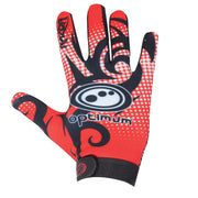 Optimum Razor Full Finger Glove Red