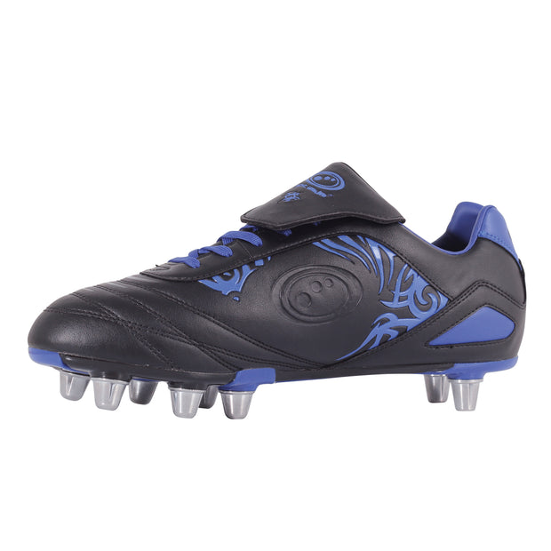Optimum Razor Rugby Boot Black/Blue
