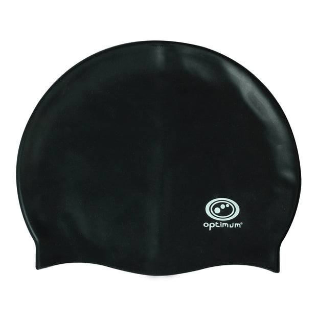Optimum Black Swimming Cap