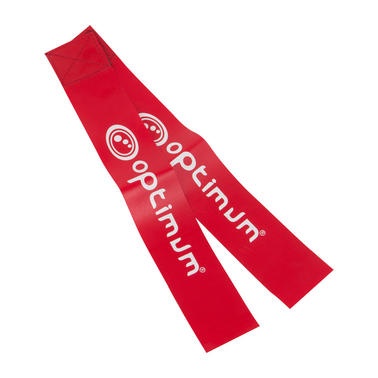 Optimum Red Tackle Belt Flags