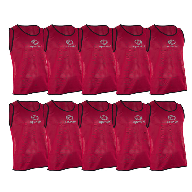 Optimum Red Training Bib