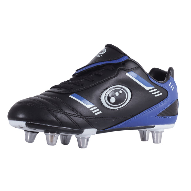 Optimum Junior Tribal Rugby Boot Black / Blue