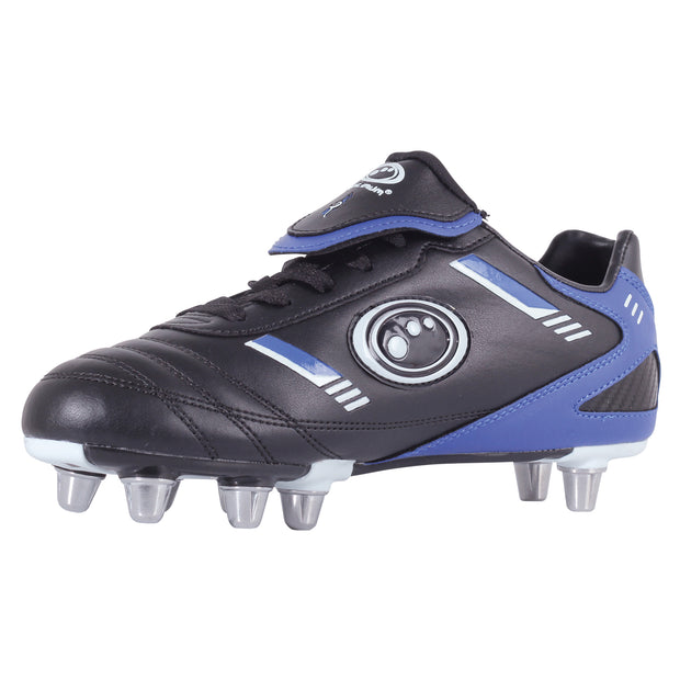 Optimum Senior Tribal Rugby Boot  Black / Blue