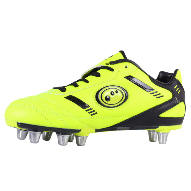 Optimum Senior Tribal Rugby Boot  Yellow/Black