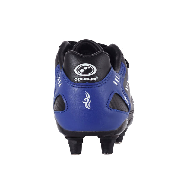 Junior Tribal 6 Stud Blue Football Boot