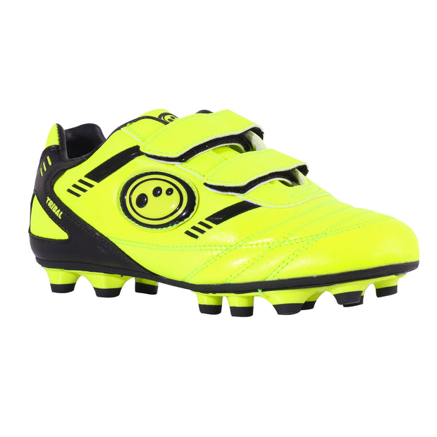 Optimum Junior Easy Fasten Tribal Moulded  Football Boots Yellow