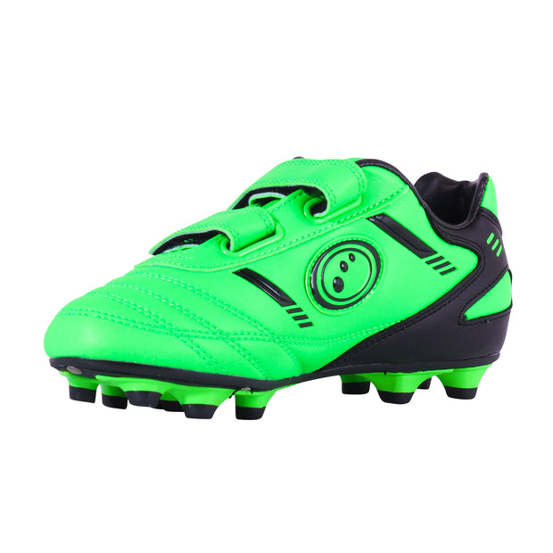 Optimum Junior Tribal Moulded Stud Football Boot Green / Black