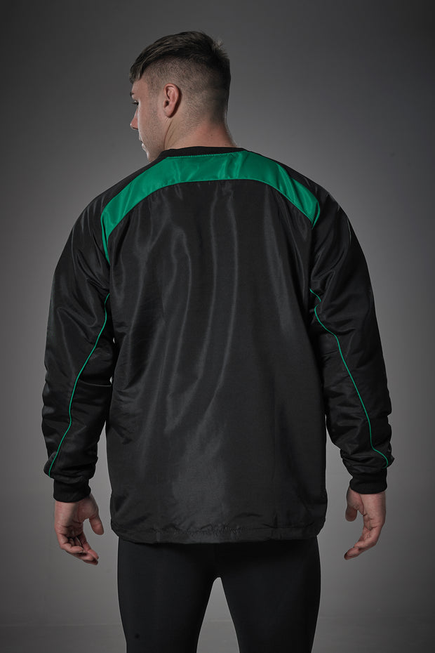 Optimum Blitz Windbreaker Top Green