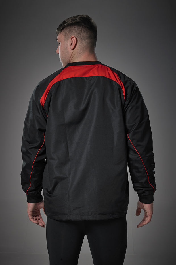Optimum Blitz Windbreaker Top Red