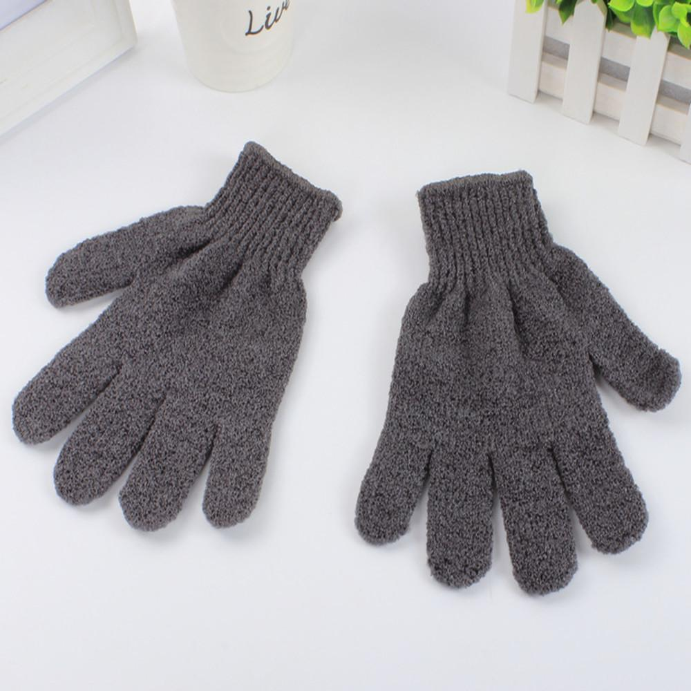 Glamza Bamboo Charcoal Exfoliating Gloves