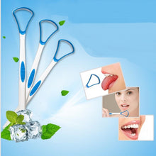 Load image into Gallery viewer, Glamza Tongue Scraper - Blue
