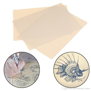 Glamza Practice Blank Tattoo Tattooing Fake False Practice Skin 20cm Synthetic Tattooing (x5)