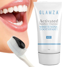 Load image into Gallery viewer, Glamza Activated Charcoal Toothpaste 50g