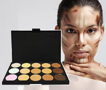 Load image into Gallery viewer, Glamza 20pc White Eye And 15pc Contour Palette Brush Set