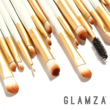 Load image into Gallery viewer, 20pc Eye Make Up Brushes Set WHITE