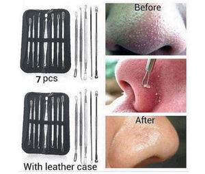 7pc Blackhead Pimple Tool Kit