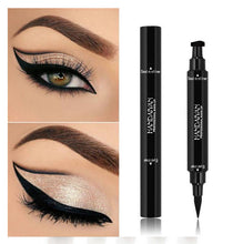 Load image into Gallery viewer, 2 in 1 Vampire Eyeliner Pen and Magic Stamp Seal
