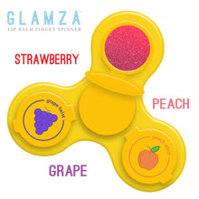 Load image into Gallery viewer, Glamza Lip Balm Fidget Spinner