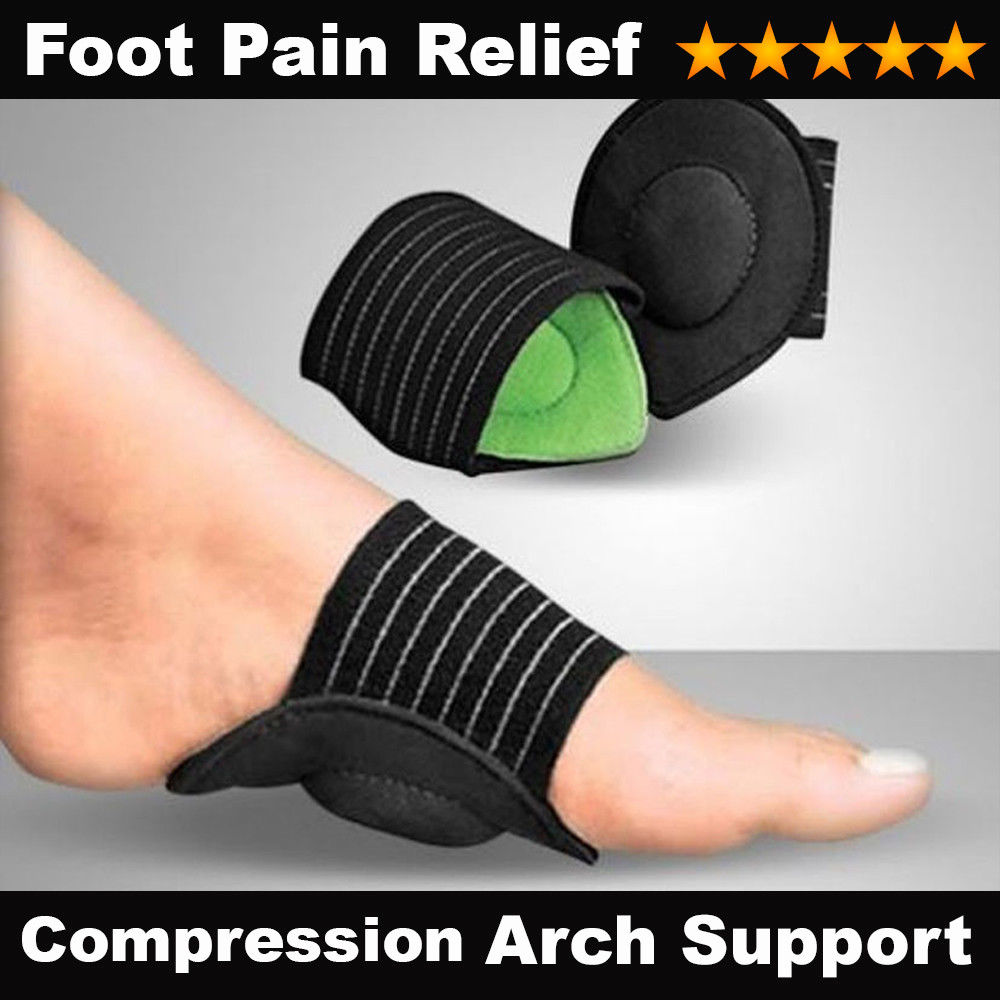 GLAMZA Cushioned Foot Arch Support by Glamza Beauty