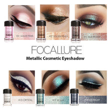 Load image into Gallery viewer, Metallic Eye Shadow Powder