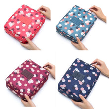 Load image into Gallery viewer, Glamza Polka Dot Make Up Bag