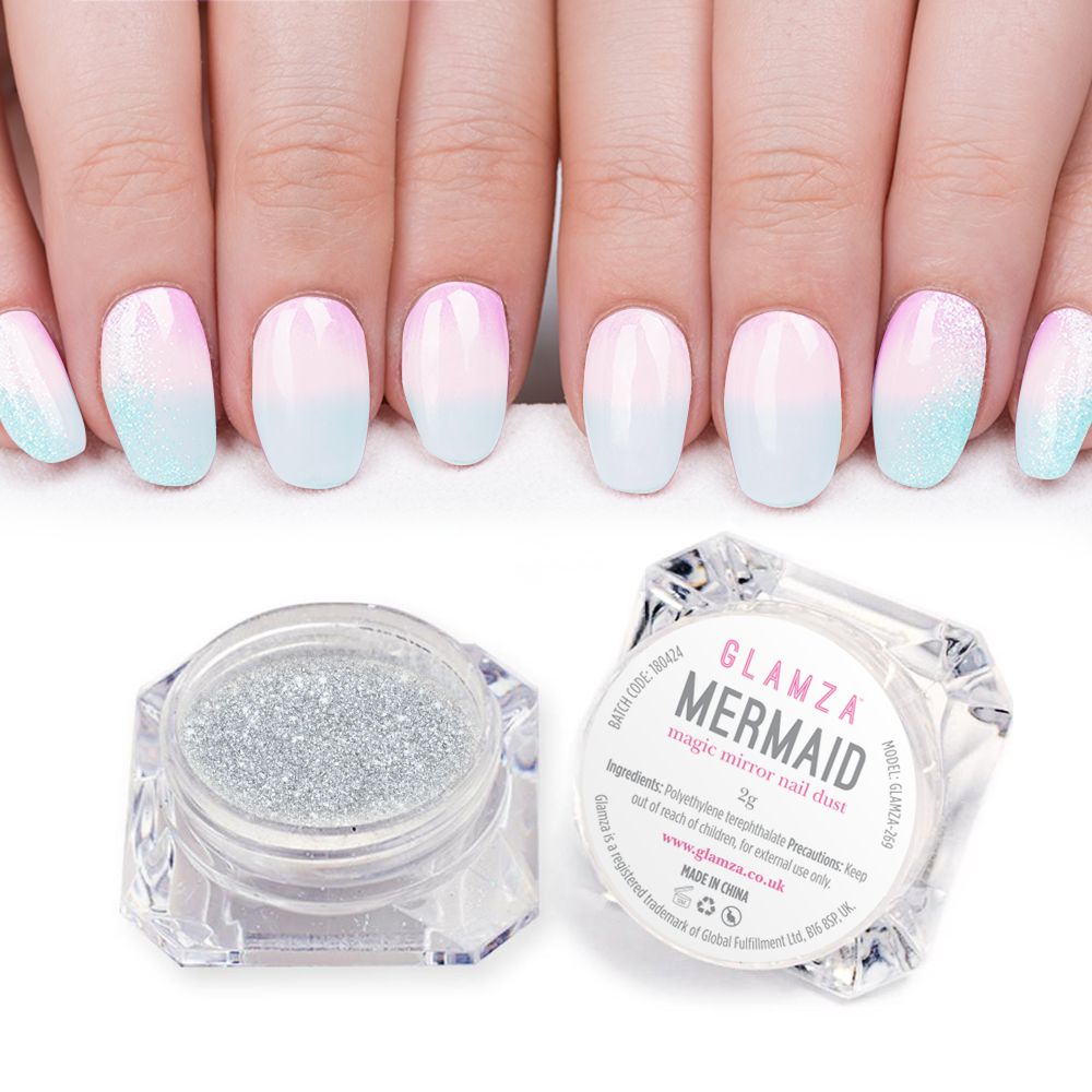 Glamza Mermaid Nail Powder
