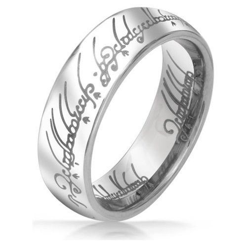 Mens Lord Vintage Stainless Steel Rings Bilbos Hobbit Ring Gold by  Glamza Beauty