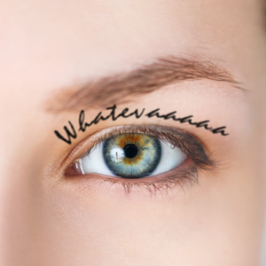Waterproof Eyebrow Tattoo Words