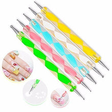 Load image into Gallery viewer, Glamza Nail Art 20pc Dotting & Brush Set