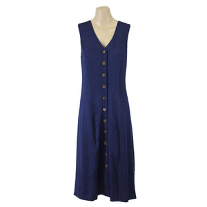 Jendi Button Front Dress