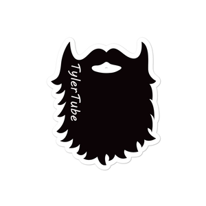 TYLERTUBE BEARD DECAL