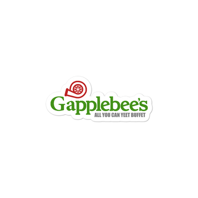 GAPPLEBEE'S DECAL